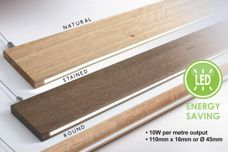2by4 timber LED profile from About Space