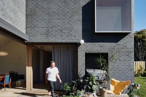 Adbri Masonry's Architectural Brick creates a simple yet bold statement.