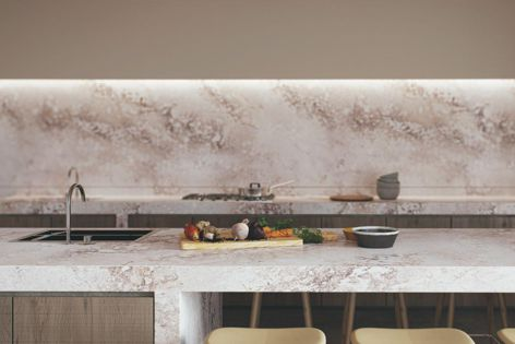 Excava cleverly combines the beautifully raw features of rust and concrete in a low-reflective matt surface finish.