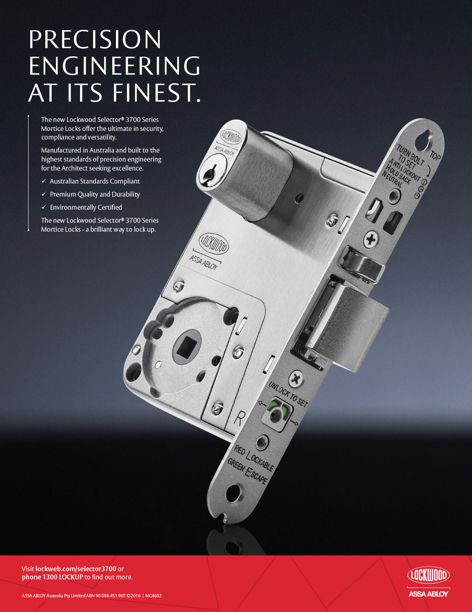 Lockwood Selector 3700 from ASSA ABLOY