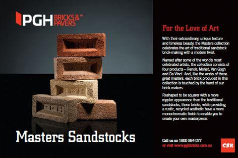 Masters bricks by CSR PGH Bricks & Pavers