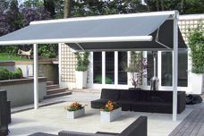 Syncra freestanding awnings