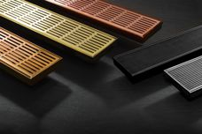 Metallic colours and finishes for Stormtech grates