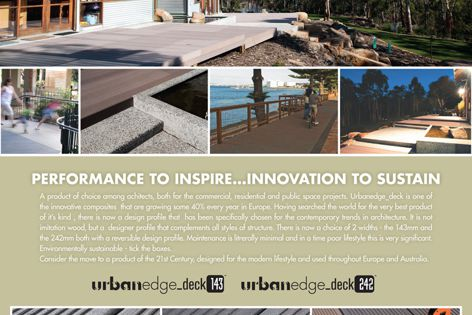 Urban Edge decking