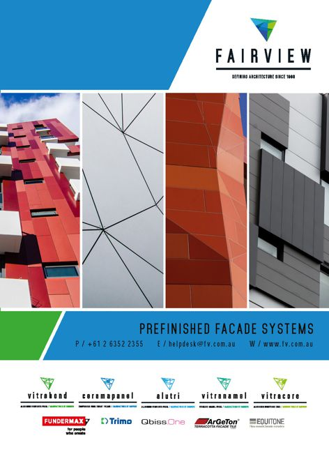 Facade systems from Fairview Architectural