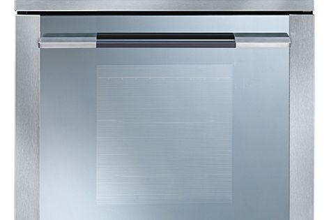 Linear oven by Smeg.