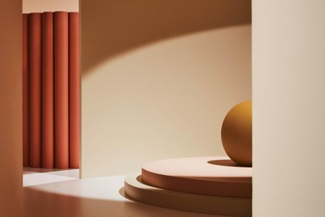 """Dulux's Wholeself palette features warm neutrals, """"sweet"""" pinks and touches of opulent gold."""