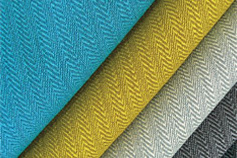 Herringbone-styled Pulse is the latest EthEco wool sustainable textile in Instyle's LIFE collection.