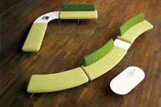 Freeflow modular bench by Zenith