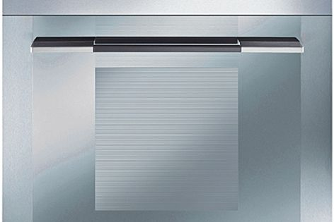 Smeg's Linear collection of Smart Chef intuitive cooking appliances allows for a custom design.