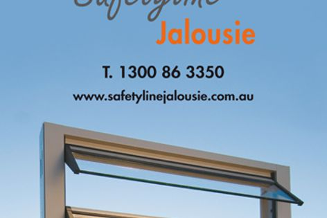 Safetyline louvres – a new dimension