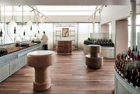 Chandon Australia by Foolscap Studio, winner of the Best Retail Design category. Photography: Tom Blachford.