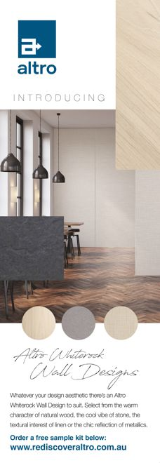 Whiterock wall designs by Altro