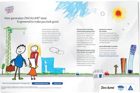 Zincalume by Bluescope Steel
