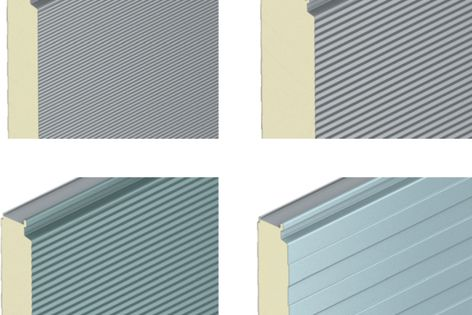 Kingspan panels are available in the full Colorbond range of colours and finishes.