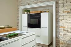 Wolf black glass built-in oven