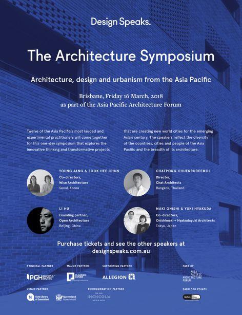 The Architecture Symposium 2018
