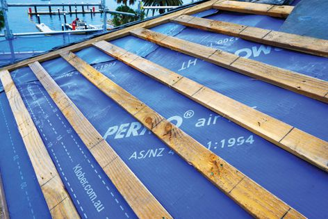 Permo Air HT by Klober is a breathable membrane that reduces the risk of condensation forming in the roof space.