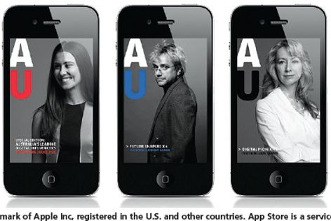 Australia Unlimited is a website and magazine-style app that showcases ideas and achievements.
