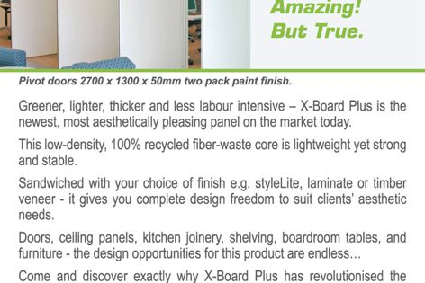 X-Board Plus 50mm panel