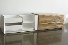 Slick and Slide storage unit by Interstudio