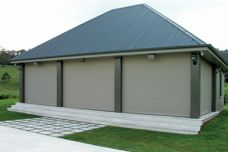 Roller shutters – protection from bushfires