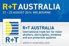 R+T Australia trade fair 2014
