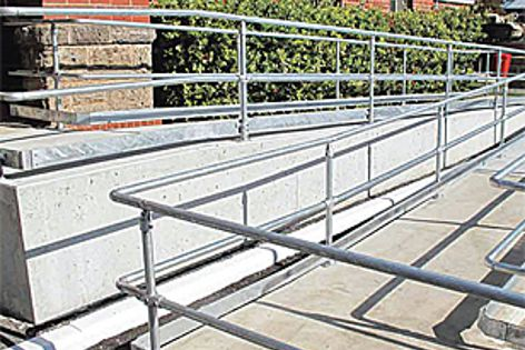 Assistrail handrails by Sayfa Systems
