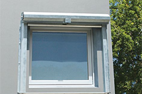 Trend's Xtreme windows and doors with Windowshield fire curtain by Smoke Control.