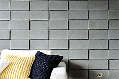 Add texture to designs with Adbri Masonry's Coloured Block, pictured in a smooth finish.