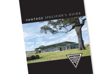 Vantage Specifiers Guide now available