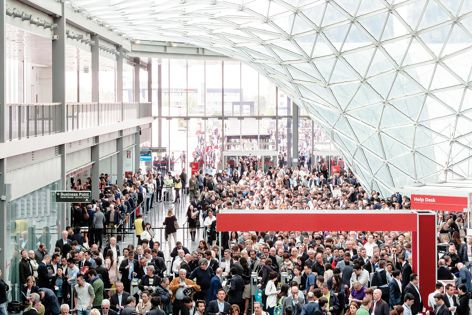 The annual trade event Salone Internazionale del Mobile will be held from 14 to 19 April 2015 in Milan.