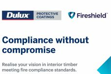 Fireshield protective coatings from Dulux