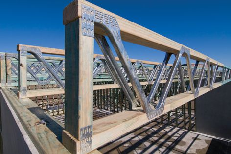 PosiStruts have the strength of steel and the versatility of timber.