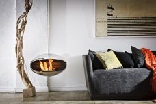 Smoke-free fireplaces by Cocoon Fires