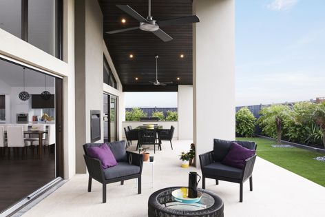 Costa Rica 37 by Boutique Homes, featuring outdoor channels by Veitch Stainless Steel Products.