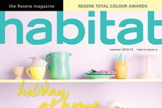 Habitat magazine from Resene