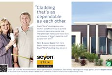 Scyon cladding by James Hardie