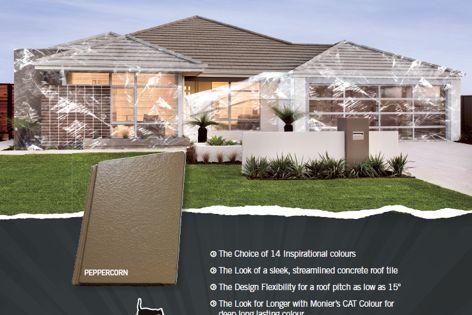 Monier Horizon roofing tiles