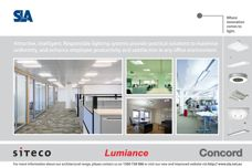 SLA lighting systems