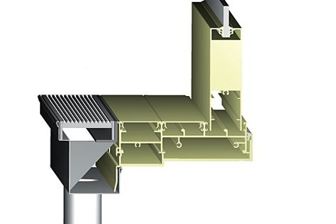 The 65TDI – a stainless steel wedge wire grate with an integrated concealed channel section.