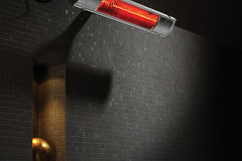 The infra-red Celmec IRH-E heater warms large areas instantaneously.