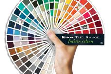 The Range 2018 fashion colours fandeck by Resene