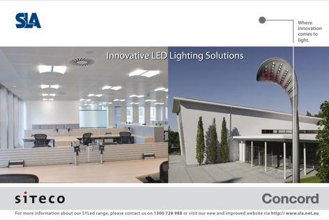 Siteco innovative LED lighting solutions