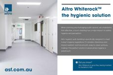 Whiterock hygienic wall cladding by Altro