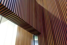 Timber feature panelling by Stack Panel