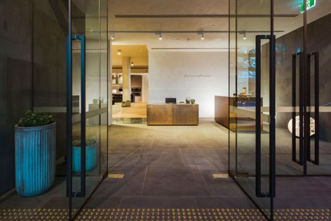 The Experience Centre facilitates interaction with Fisher and Paykel appliances, and was designed as a collaborative partnership between Fisher and Paykel, Fearon Hay, Alt Group and Satellite Media.