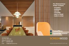 Screenwood linear timber modules