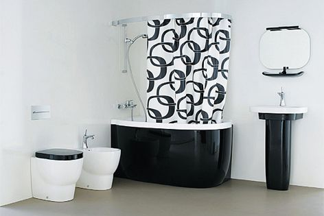 With its Mimo series, Laufen has staged a bathroom scenario of refreshing unconventionality.