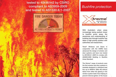 Xtreme bushfire windows & doors